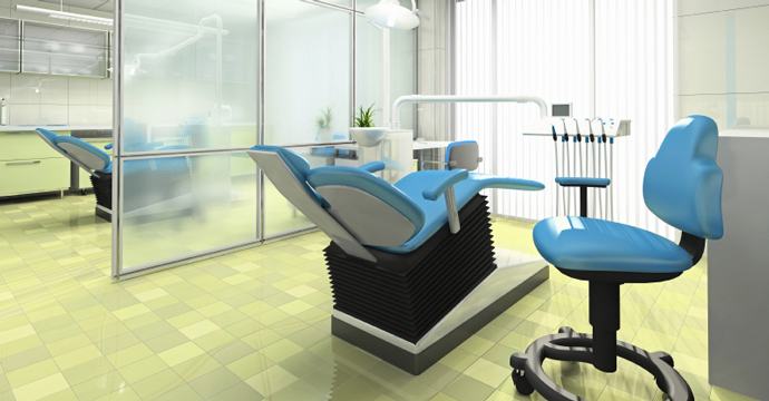 clean medical office