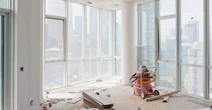 Building Construction Clean Up